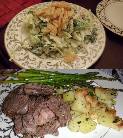Well Dined | Chopped Salad, Rib Roast